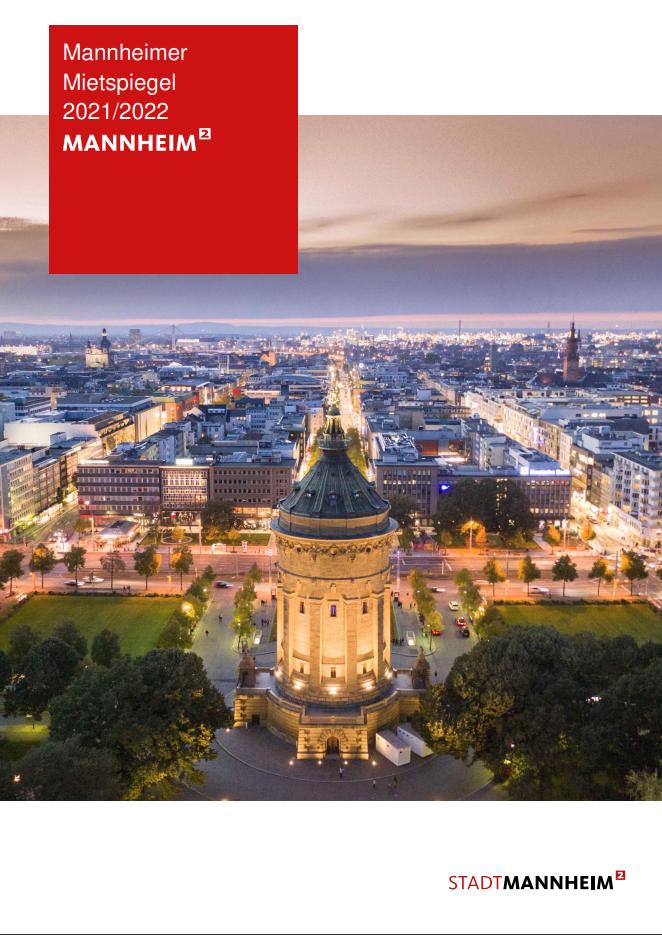Vermietung von Häusern - Informationen aus dem Mietspiegel Mannheim